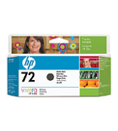 HP 72 130-ml Mat Black Ink Cartridge (C9403A)
