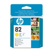 HP82 ink yellow, 28 ml.
