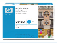 HPQ6461A, Color LaserJet Q6461A cyan toner