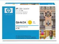 HPQ6462A, Color LaserJet Q6462A yellow toner