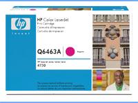 HPQ6463A, Color LaserJet Q6463A magenta toner