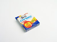 Dymo tape sort/hvid