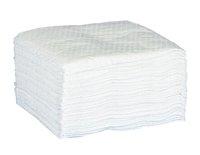 Servietter 24x24cm hvid 1-lags
