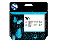 HP 70 Printhead light cyan + light magenta