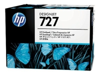 HP 727 original printhead black and color